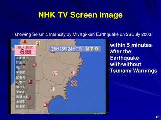 NHK TV Screen Image