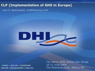 CLP ( Implementation  of GHS in  Europe )