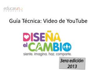 Guía Técnica: Video de YouTube