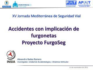 Accidentes con implicaci�n de furgonetas  Proyecto FurgoSeg