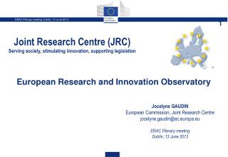 European Research and  I nnovation Observatory