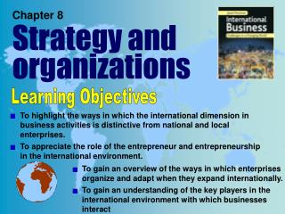 Chapter 8 Strategy and organizations