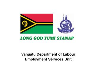 Vanuatu Department of Labour Employment Services Unit