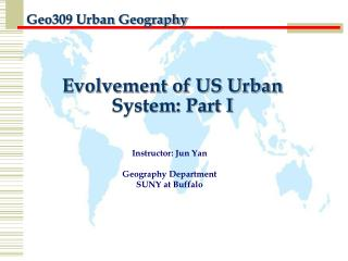 Evolvement of US Urban System: Part I