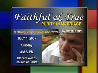 JULY 1, 2007 Sunday  AM & PM Oldham Woods church of Christ