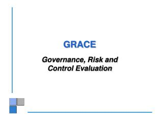 GRACE Governance, Risk and  Control Evaluation