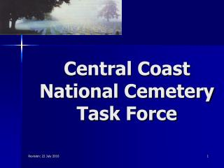 Central Coast National Cemetery Task Force