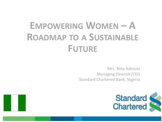 Empowering Women – A Roadmap to a Sustainable Future