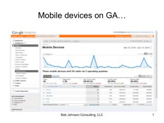 Mobile devices on GA…