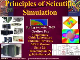 Principles of Scientific Simulation