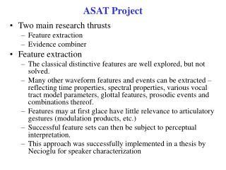 ASAT Project