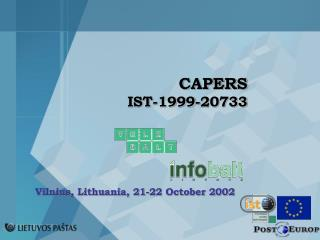 CAPERS IST-1999-20733