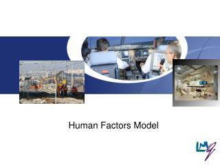 Human Factors Model
