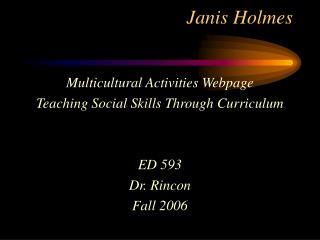 Janis Holmes