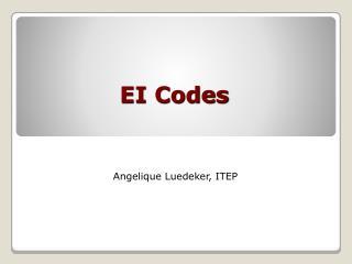 EI Codes