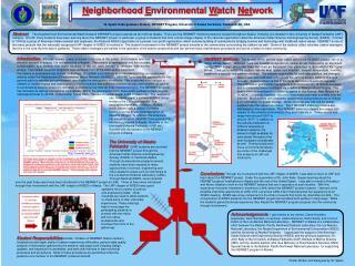 N eighborhood  E nvironmental  W atch  Net work