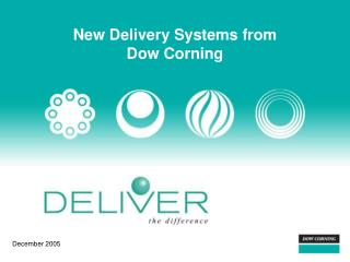 New Delivery Systems from Dow Corning