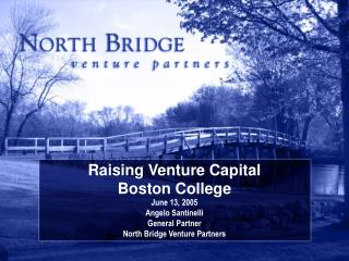 Raising Venture Capital Boston College