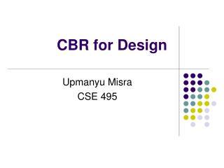 CBR for Design