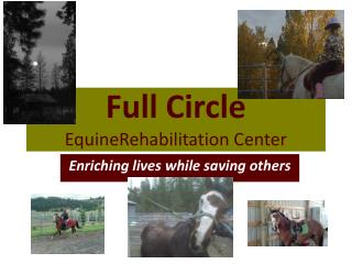 Full Circle Equine Rehabilitation  Center