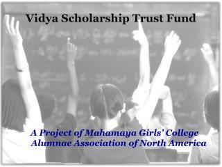 Vidya  Scholarship Trust Fund