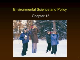 Environmental Science and Policy