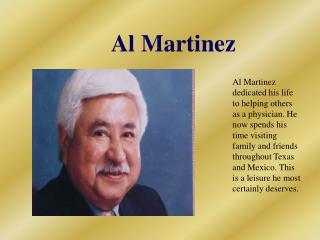 Al Martinez