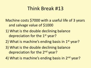 Think Break #13