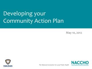 Developing your Community Action Plan