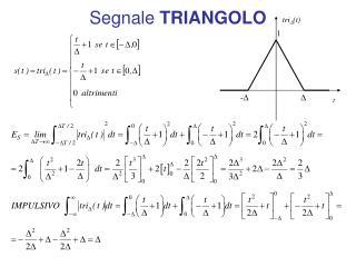 Segnale  TRIANGOLO