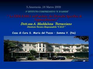 S.Anastasia ,18 Marzo 2009