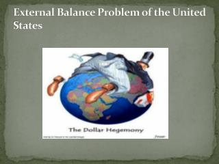 External Balance Problem of the United States