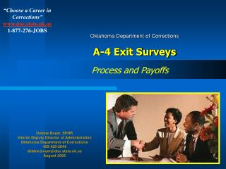 Oklahoma Department of Corrections A-4 Exit Surveys