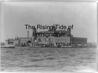 The Rising Tide of Immigration: