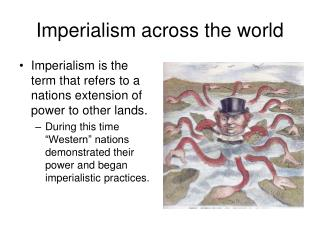 Imperialism across the world