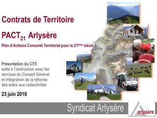 Syndicat Arlysère