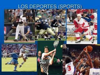 LOS DEPORTES (SPORTS)