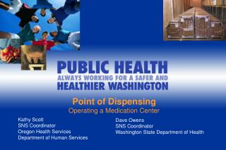Point of Dispensing Operating a Medication Center