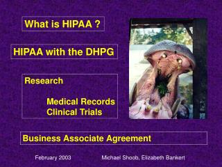 What is HIPAA ?