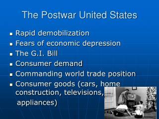 The Postwar United States