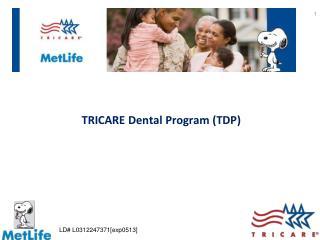 TRICARE Dental Program (TDP)