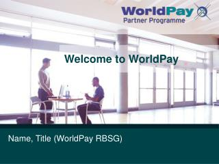 Welcome to WorldPay