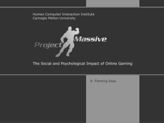 The Social and Psychological Impact of Online Gaming