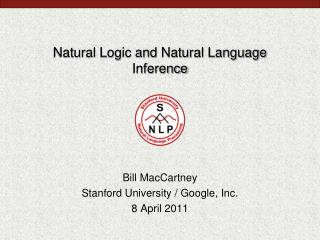 Natural Logic and Natural Language Inference