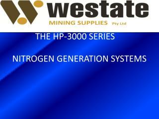 NITROGEN GENERATION SYSTEMS