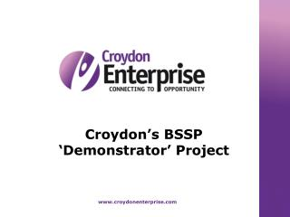 Croydon's BSSP 'Demonstrator' Project