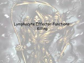 Lymphocyte Effector Functions: Killing