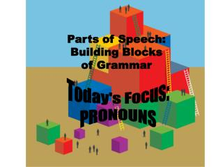 Parts of Speech:  Building Blocks  of Grammar