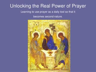 Unlocking the Real Power of Prayer