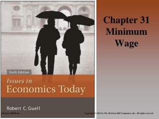 Chapter 31 Minimum Wage